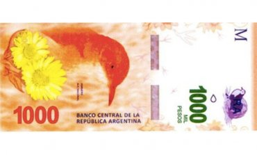 En octubre comenzará a circular el billete de $1000 con la figura del hornero