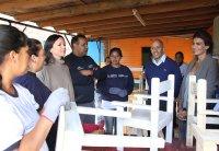 Juliana Awada y Carolina Stanley visitaron una cooperativa de trabajo en Pilar