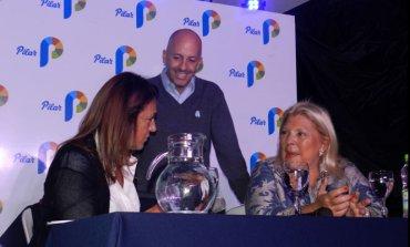 Carrió pasó por Pilar y señaló a Campagnoli como candidata a diputada nacional