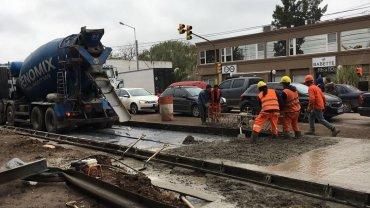 Por las obras de ensanche en la ruta 234 piden precaución al transitar por la zona