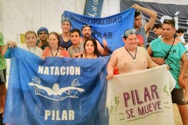 La Escuela Municipal de Natación Especial brilló en San Isidro