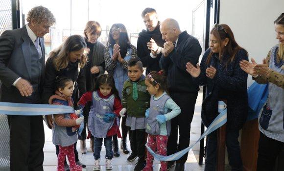 Se inauguraron las obras de ampliación en un jardín de infantes