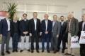 Ducoté y Etchevehere recorrieron una nueva planta laboratorio en el Parque Industrial