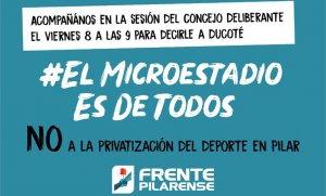 """""""El Microestadio es de Todos"""""""
