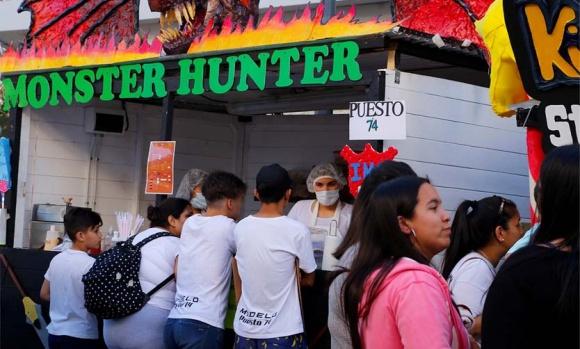Habrá casi un centenar de kioscos escolares en las Fiestas Patronales de Pilar