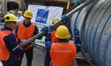AYSA sale a endeudarse en el exterior para financiar obras de agua y cloacas