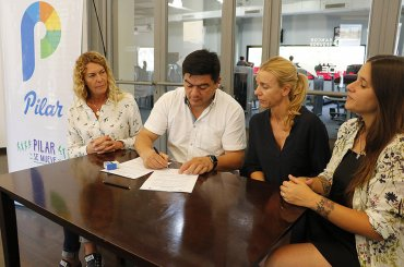 El Municipio firmó convenio con gimnasio con beneficios para empleadas