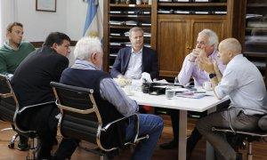 El intendente Ducoté volvió a reunirse con autoridades de AySA